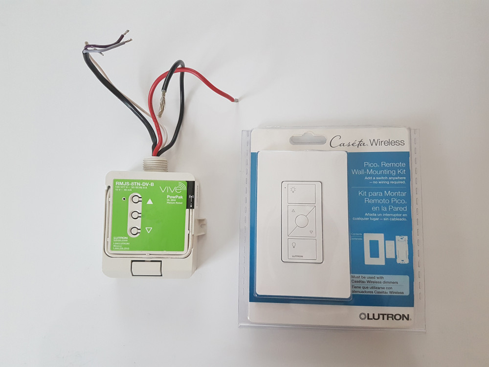 Arrangements - Lutron dimmer and remote control