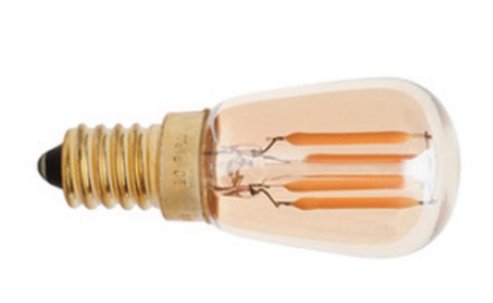 Set of 50 - 2W E14 Clear Ball LED - 2700K 160lm - UL Listed