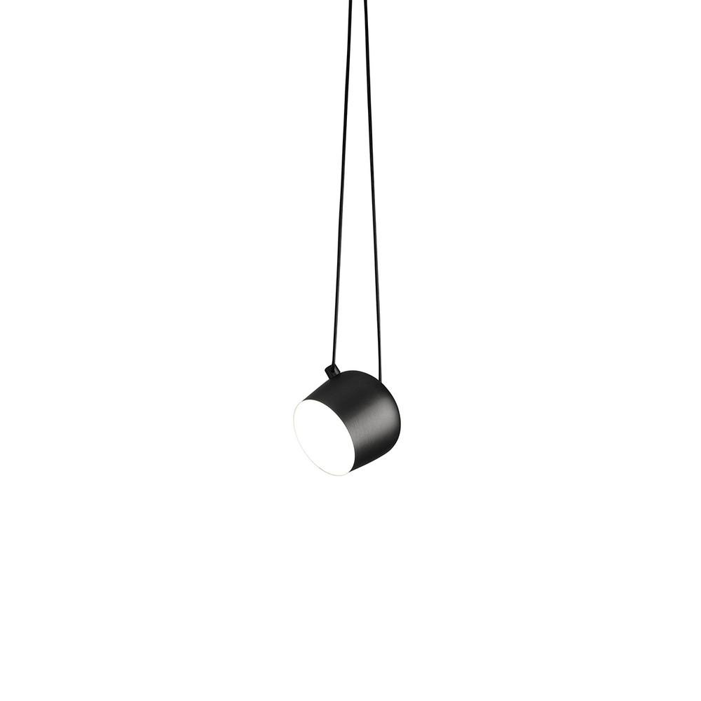 AIM 3500K Single Hardwired Pendant in Black