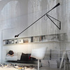 FLOS USA 265 Lamp swinging wall sconce