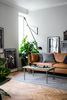 Mod 265 wall lamp by Paolo Rizzatto for Flos - Living Room Lighting Setup