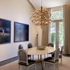 2097 Chandelier with Incandescent light bulbs