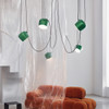 AIM Pendant in Green by Bouroullec