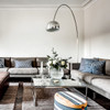 Arco Floor Lamp by Achille Castiglioni for Flos - Dining Room Lighting Setup