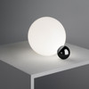 FLOS Copycat LED Sphere Table Lamp in Black