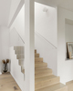 Flos Glo Ball C/W modern glass lamp in the staircase