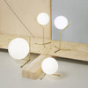 IC Lights Collection in Brass - High Contemporary Table Lamp