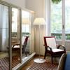 Romeo soft tall floor lamp by Phillipe Starck