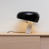 Snoopy Black Italian Table Lamp contemporary