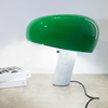 flos Snoopy green marble table lamp