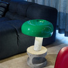 Snoopy Italian marble table lamp by © Scheltens & Abbenes