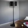 Spun light floor lamp