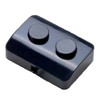 Stylos black pedal switch