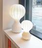 Mid-century modern cocoon table lamp
