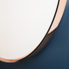 FLOS Clara Copper Wall Ceiling mounted Lamp by Piero Lissoni