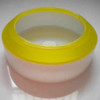 Opal-yellow polycarbonate diffuser assembly