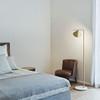Flos Captain flint floor lamp in bedroom area | FLOS USA