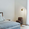 Flos Captain flint floor lamp in bedroom area | FLOS USA
