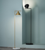 Flos Captain flint floor lamp in living room area | FLOS USA