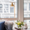 Flos Captain Flint floor lamp in living room area | FLOS USA