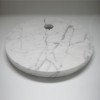 Captain Flint White Marble Base