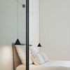 String Lights Cone FLOS USA Inspired by overhead electrical power lines