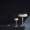 Bon Jour Versailles Table Lamp in Copper or Chrome LED Dimmable Bulb