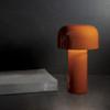 Bellhop Modern Table Lamp in Orange
