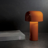 Bellhop Modern Table Lamp in Orange