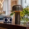 Bellhop Modern Table Lamp in Dark Brown