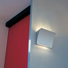 Pochette Up & Down LED wall sconce in Chrome
