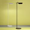 Tab Floor LED Lamp 90° Rotatable Head White Black