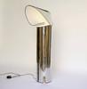 New Chiara LED Floor in Stainless Steel by Mario Bellini for Flos