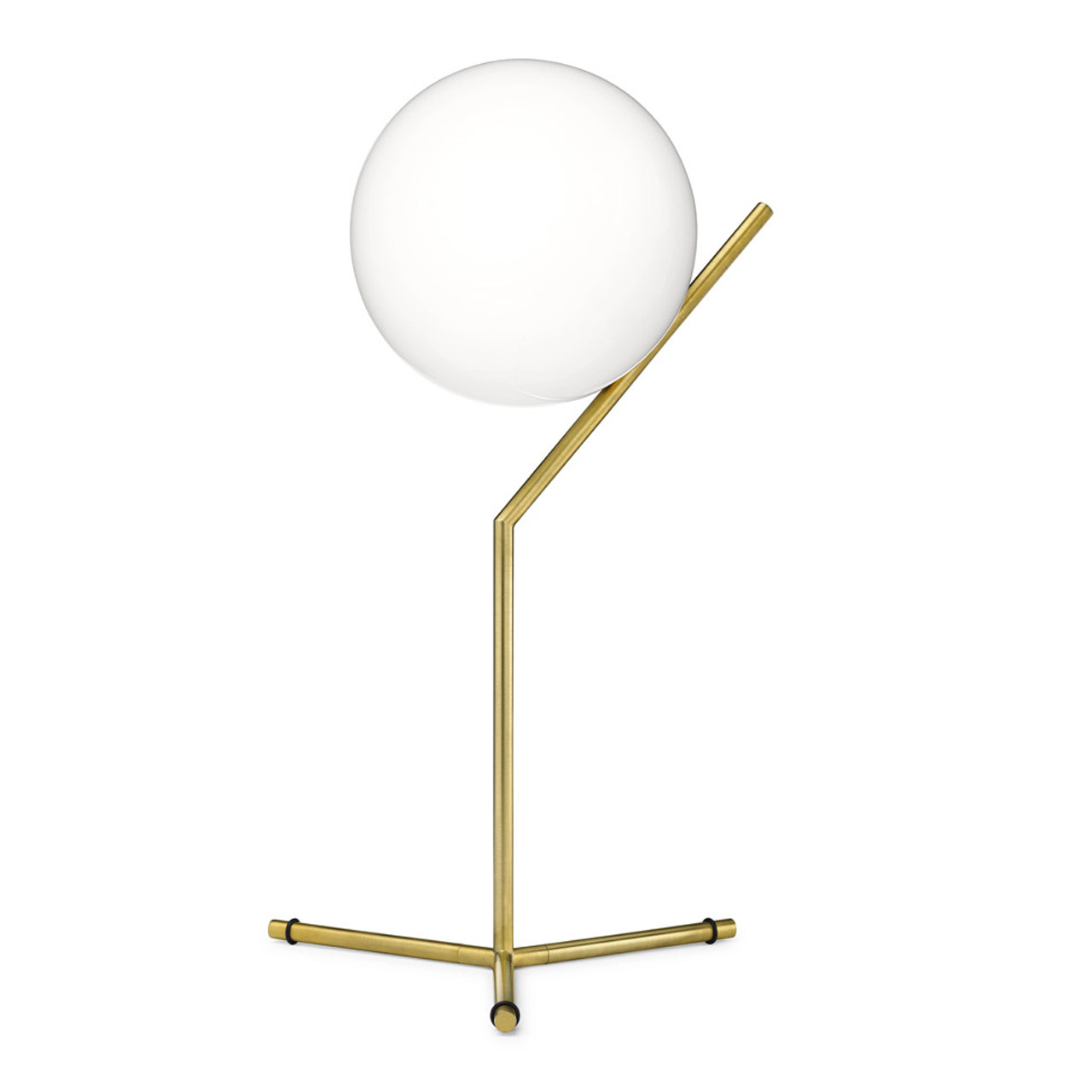 Ic Lights T Dimmable Table Light In Brass Or Chrome