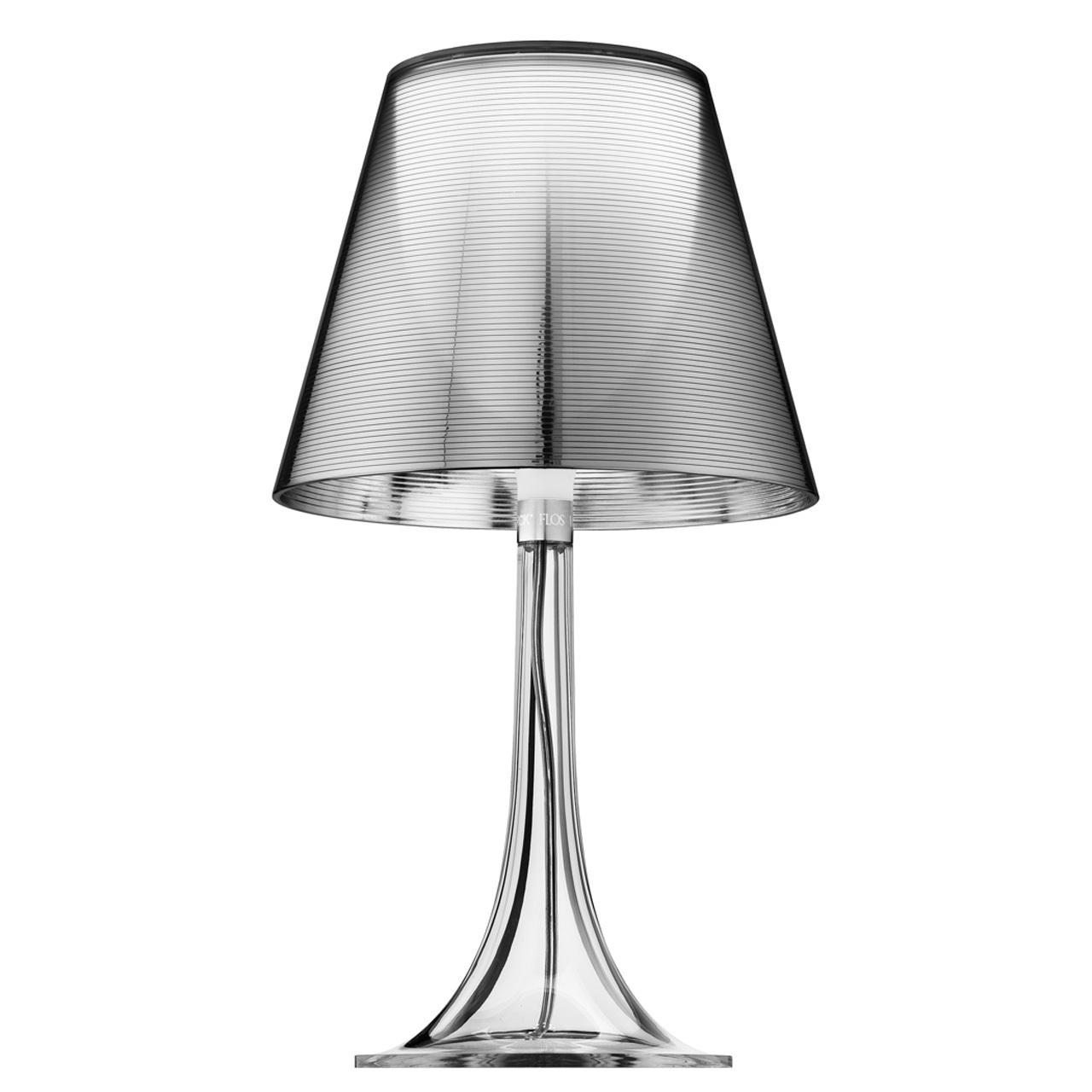Miss K Table Lamp In Silver Black Or Red