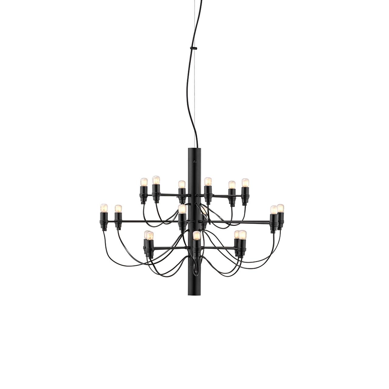 2097 Chandelier By Gino Sarfatti Modern Pendant Lights Flos Usa