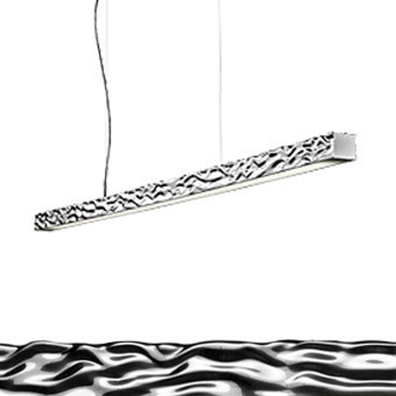Long Amp Hard Modern Linear Pendant Lighting By Philippe