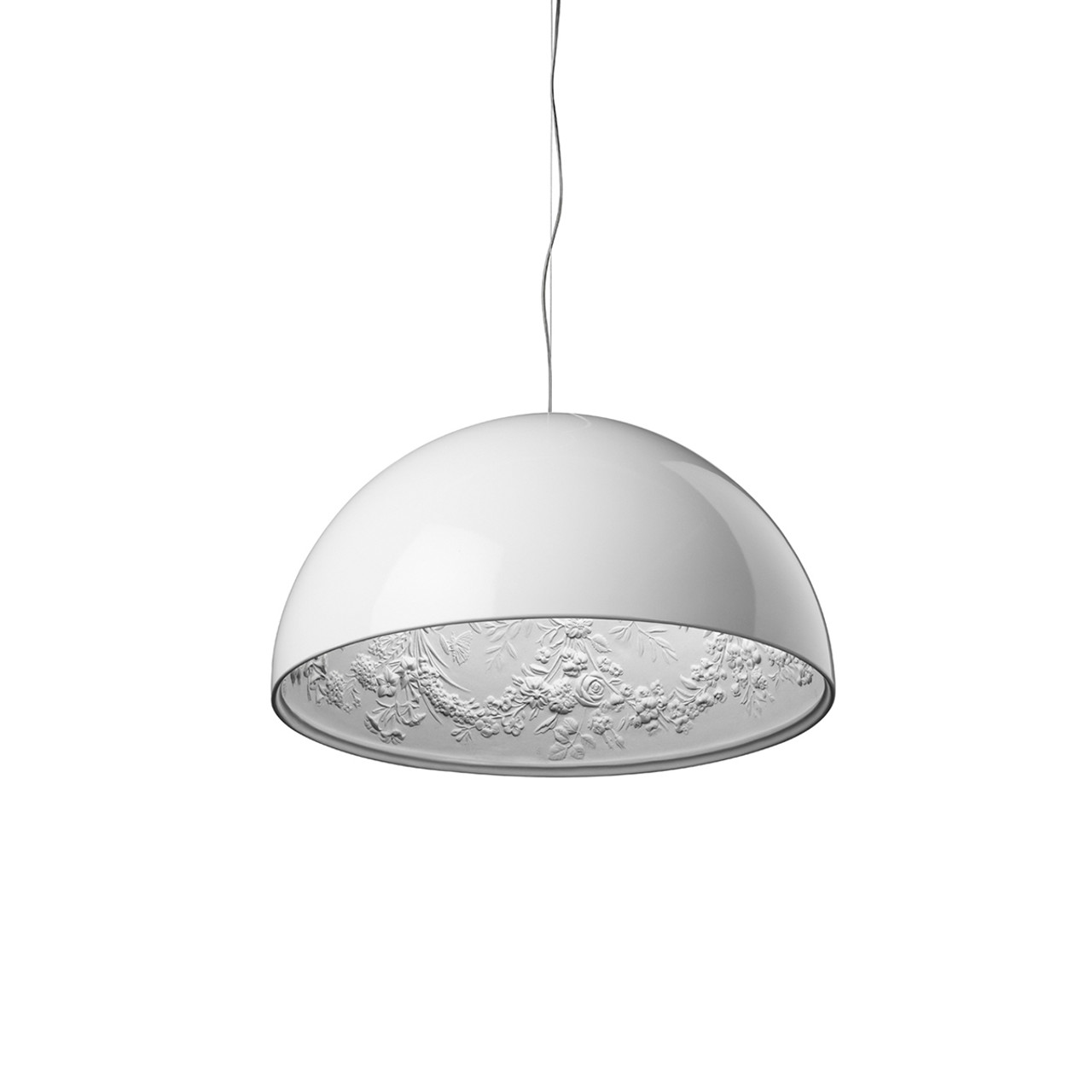 Skygarden s pendant dimmable light in white black brown or gold