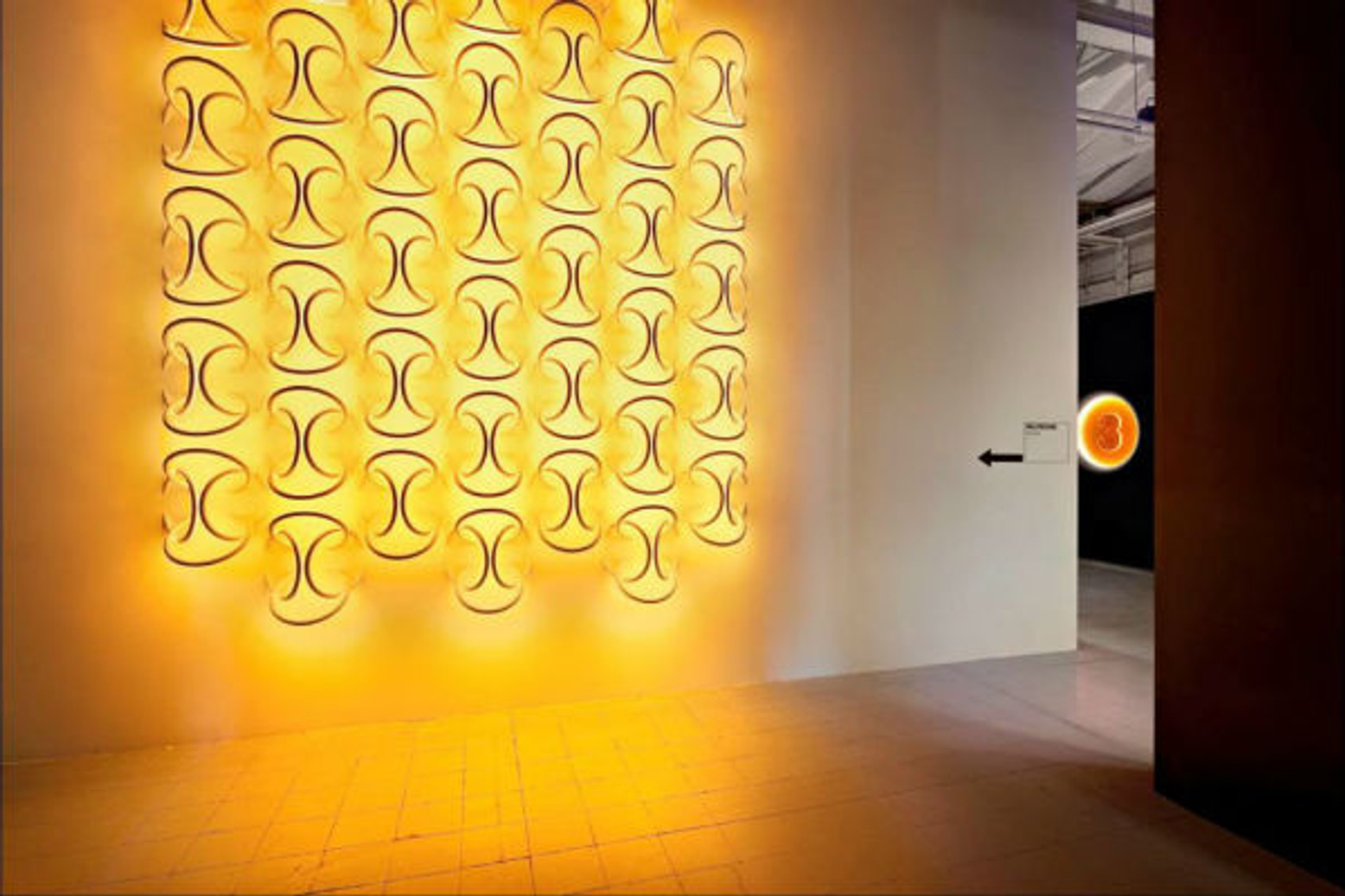 The Many Moods of Color and Light | LED Wall Piercing Lights