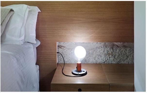 Lampadina Bedroom Table Lamp