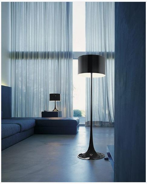 Spun Light Bedroom Modern Floor Lamp