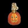Mini Glass Halloween Ornaments  pumpkin