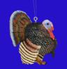 "Turkey Ornament, 2 5/8"", break resistant #SL7595"