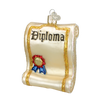 Diploma Glass Ornament