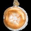Bagel Glass Ornament
