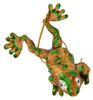 Cloisonne Frog Ornament - Golden top