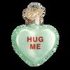 Valentine Heart Candy Glass Ornament hug me