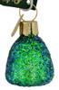 Gumdrop Glass Ornament Green
