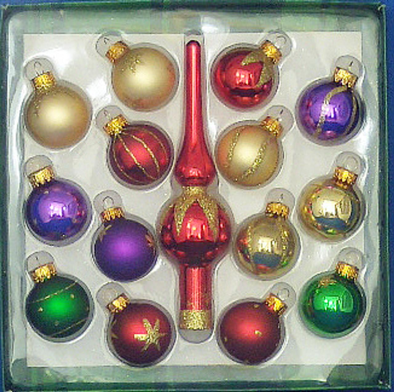 Home & Kitchen Ball Ornaments gasthof donau sigmaringen.de Set of ...