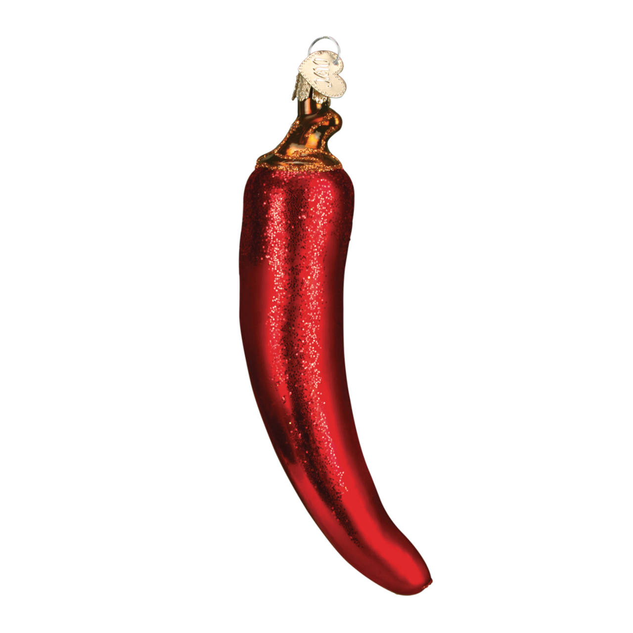 Chili Pepper Glass Ornament by Old World Christmas - your ...